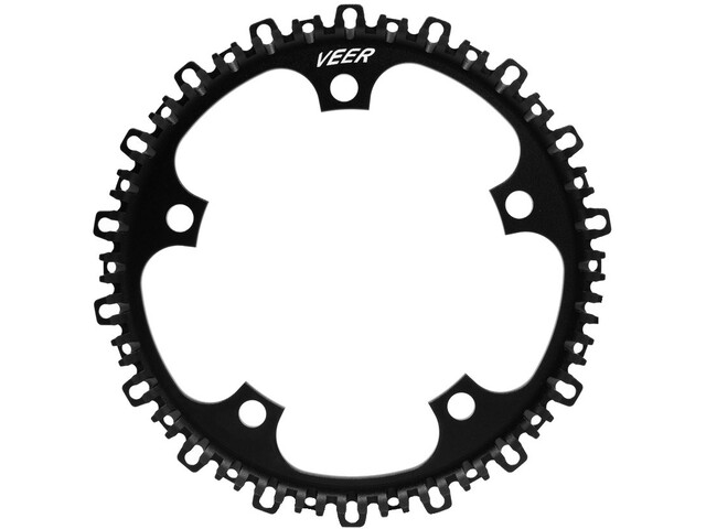 Veer Split Belt Pro Front Sprocket 5-Bolt Ø130mm black